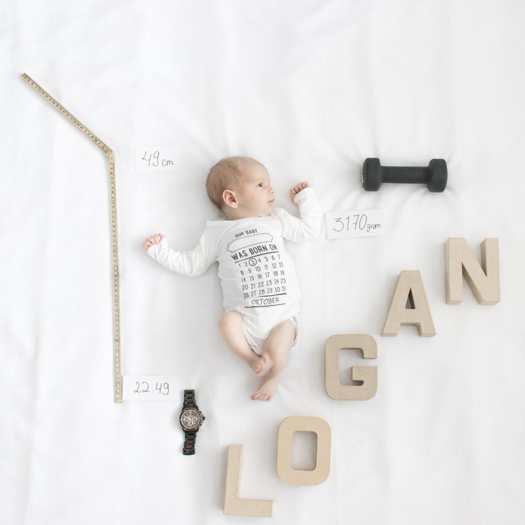 Leuk kaartje voor de geboorte van je kind